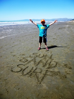 Sun, sand, surf