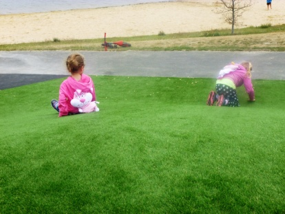 Fuzzy, soft grass - check it out!