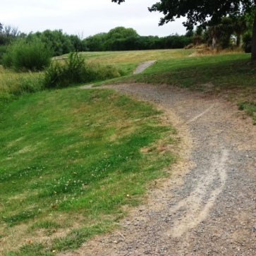 Path suitable for bikes