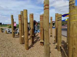 Stepping poles